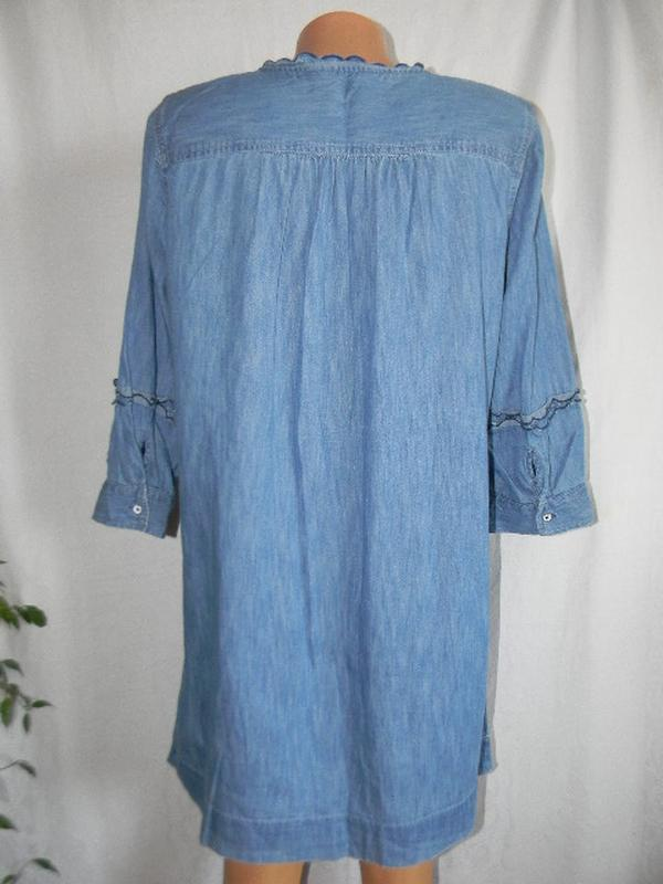 Джинсовое платье tu - Фото 3