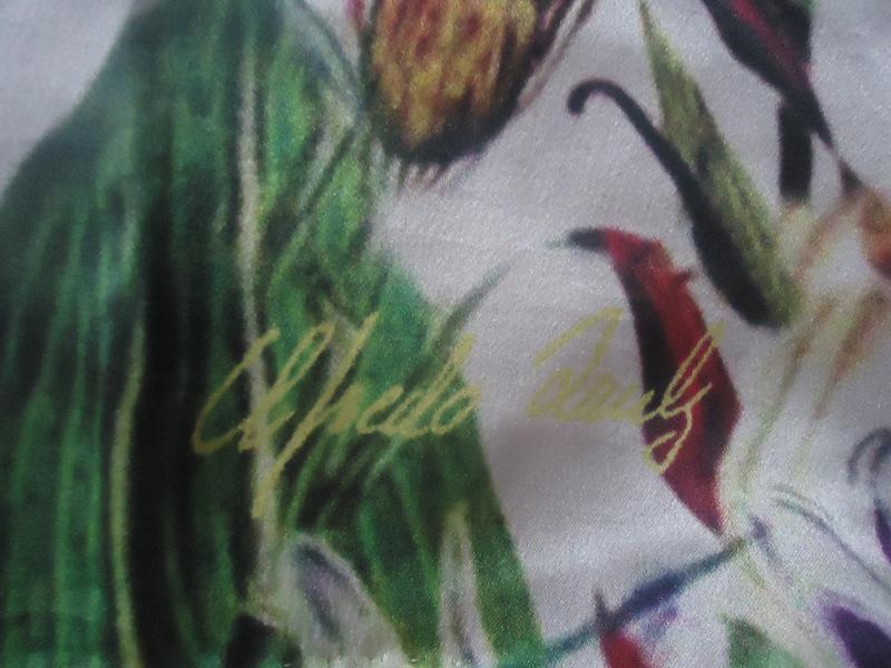 Шелковый шарф - Фото 2