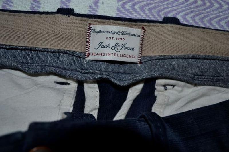 Брюки вельветовые Jack#Jones 32/34 slim fit - Фото 5