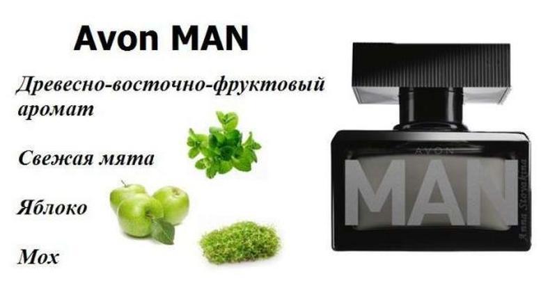Туалетна вода avon man (75 мл)