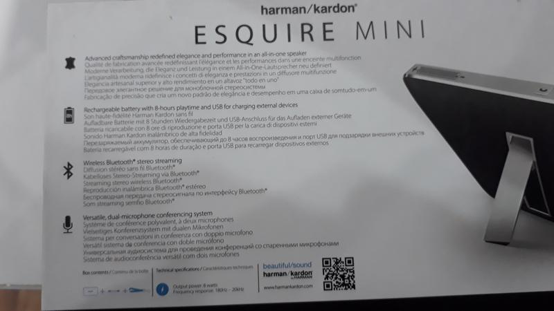 Harman Kardon Esquire Mini 2 Портативная колонка - Фото 8