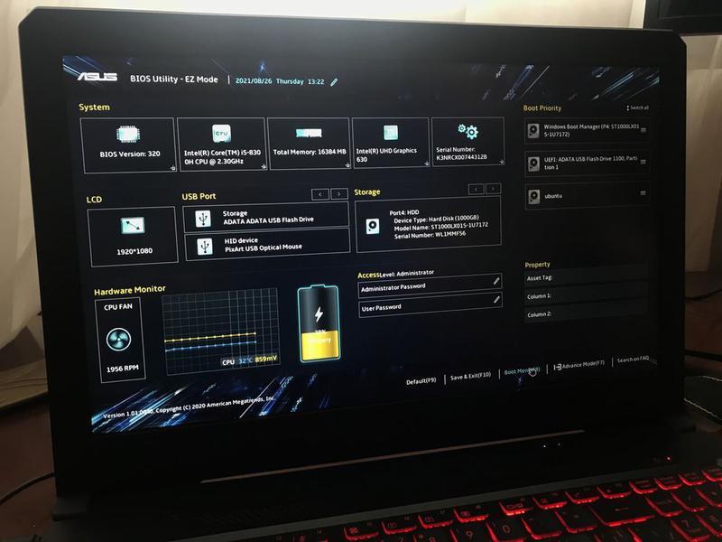 Asus TUF FX504 gaming series/ gtx 1050 ti/16 озу