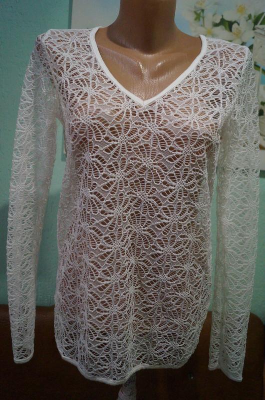 Кружевная блуза р.м,бренд  sisters - Фото 5