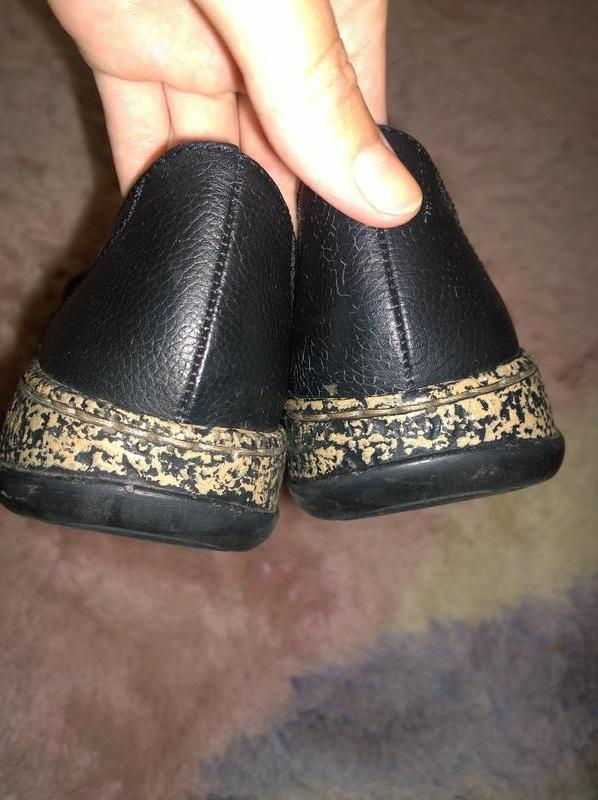 Кожаные туфли rieker размер 37 - Фото 3