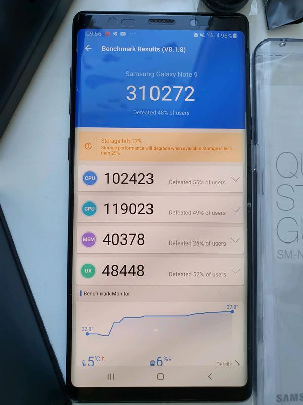 Samsung Galaxy Note 9 Midnight Black - Фото 6