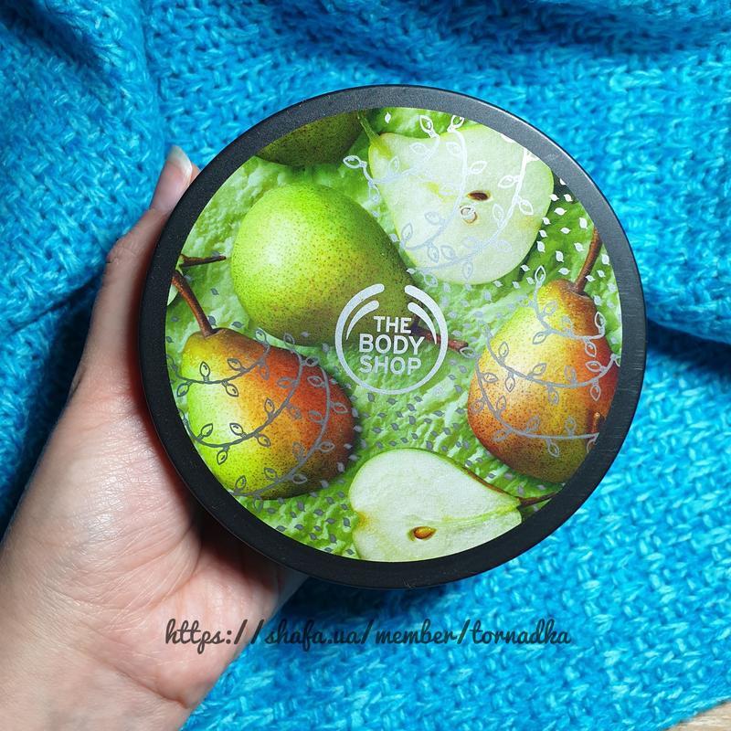 Баттер (масло) для тела the body shop - juicy pear
