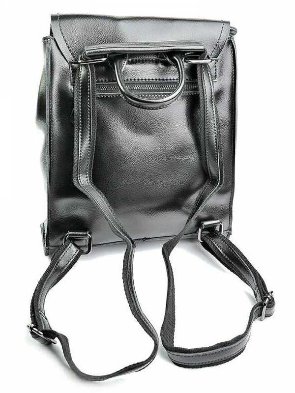 Женский кожаный рюкзак из натуральной кожи жіночий шкіряний - Фото 2