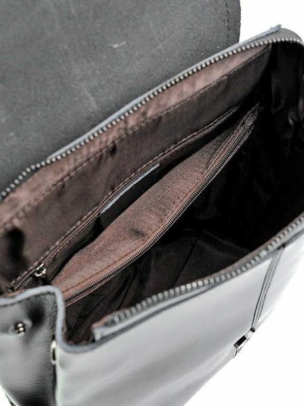 Женский кожаный рюкзак из натуральной кожи жіночий шкіряний - Фото 3