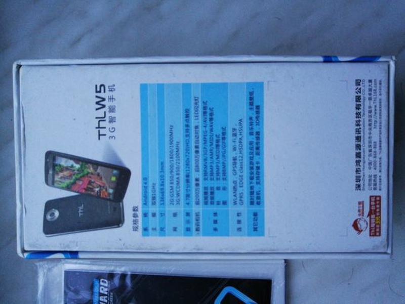 Смартфон THL W5 Black рабочий / идеальное состояние - Фото 8