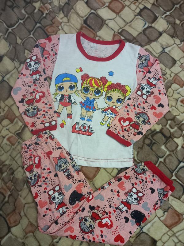 Пижама для девочки 2-4 г лол lol