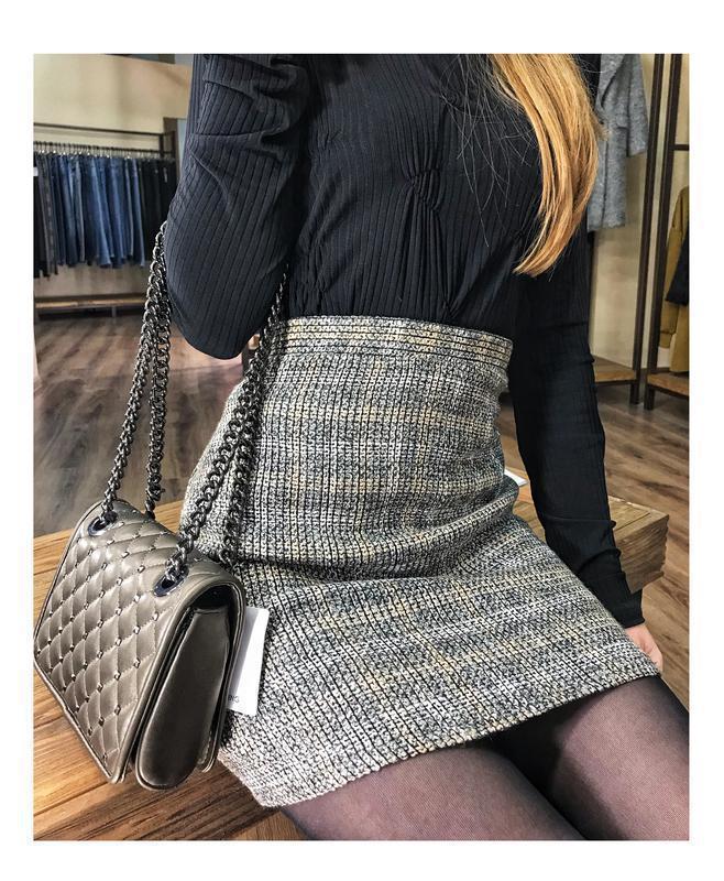 Твидовая юбка от zara - Фото 2