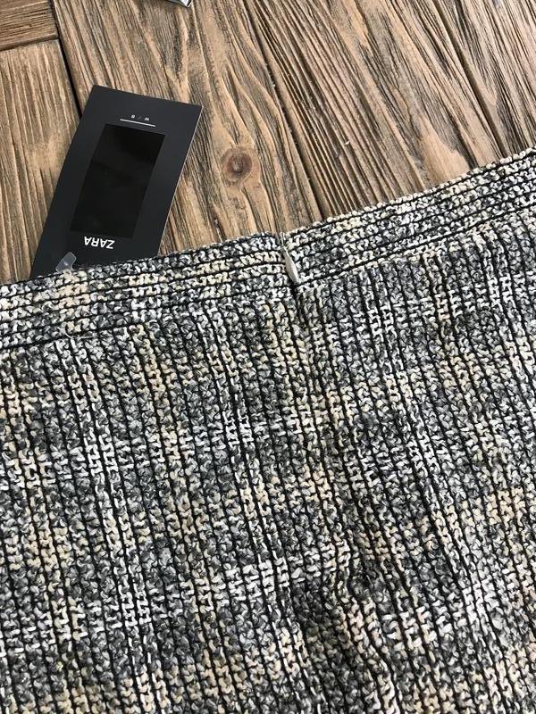 Твидовая юбка от zara - Фото 5