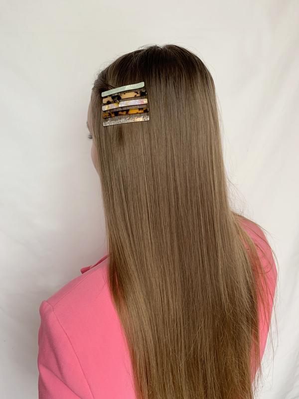 Заколка для волос, заколка для волосся, заколки, перламутровая...