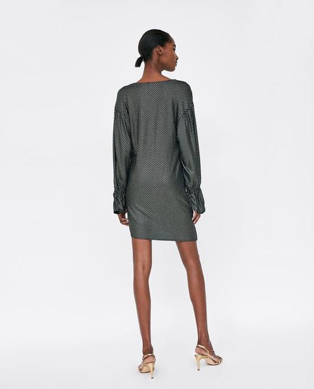 Платье с люрексом от zara - Фото 2