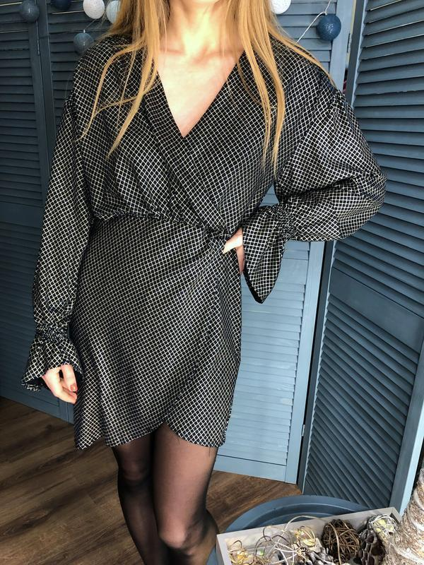 Платье с люрексом от zara - Фото 4
