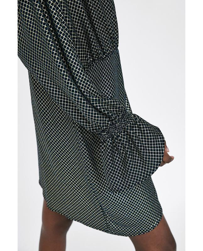 Платье с люрексом от zara - Фото 5