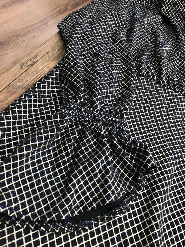 Платье с люрексом от zara - Фото 8