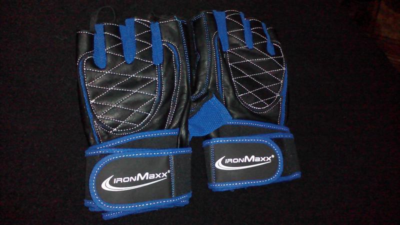 Тренировочные перчатки Premium IronMaxx