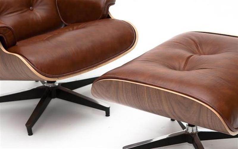 Кресло Eames Lounge Chair элегантное и престижное. - Фото 3