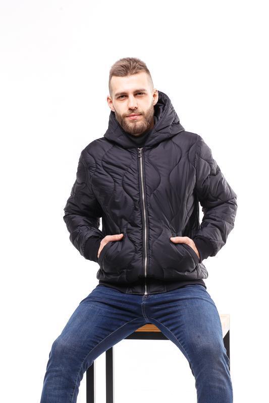 Куртка стеганая демисезонная stitch - Фото 3