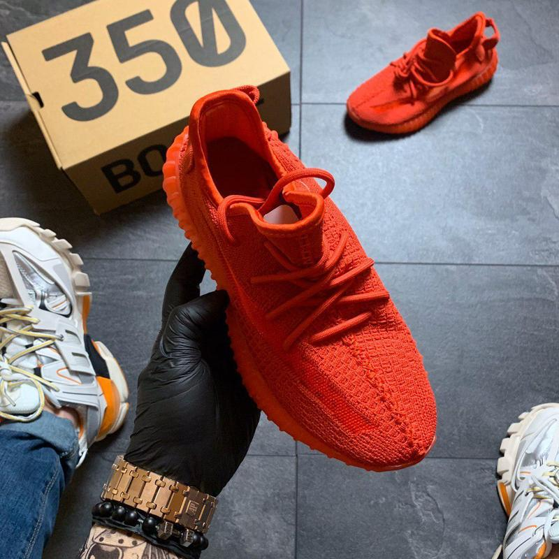 Adidas yeezy boost 350 red. - Фото 2