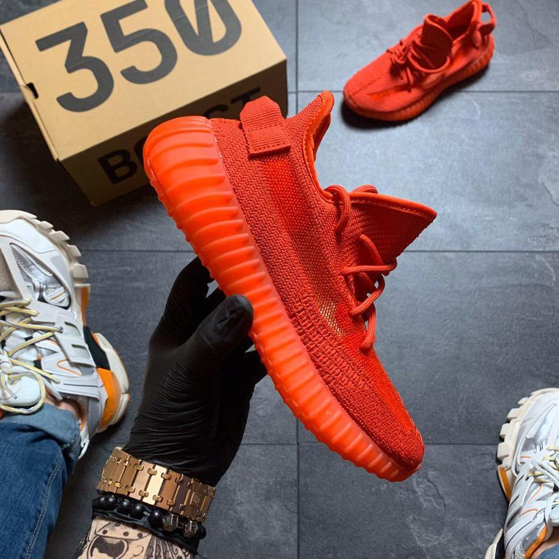 Adidas yeezy boost 350 red. - Фото 3