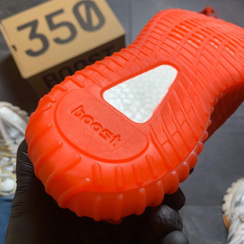 Adidas yeezy boost 350 red. - Фото 4