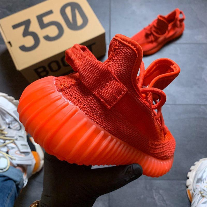 Adidas yeezy boost 350 red. - Фото 5