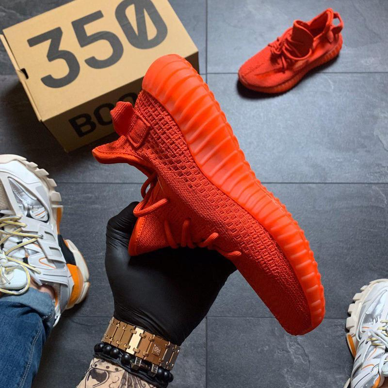 Adidas yeezy boost 350 red. - Фото 6