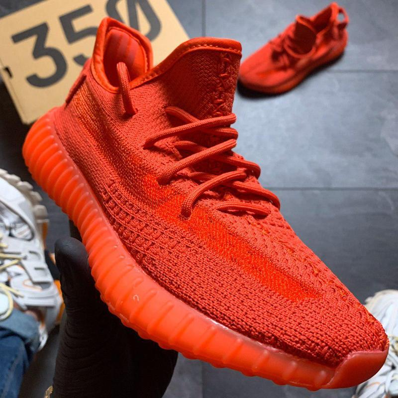 Adidas yeezy boost 350 red. - Фото 8