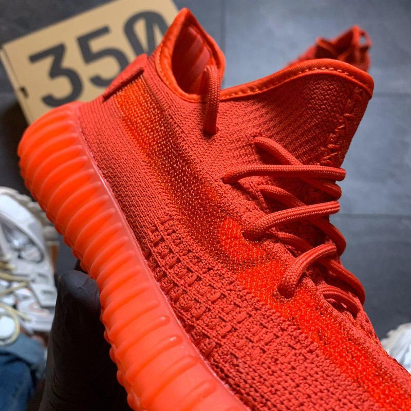 Adidas yeezy boost 350 red. - Фото 9