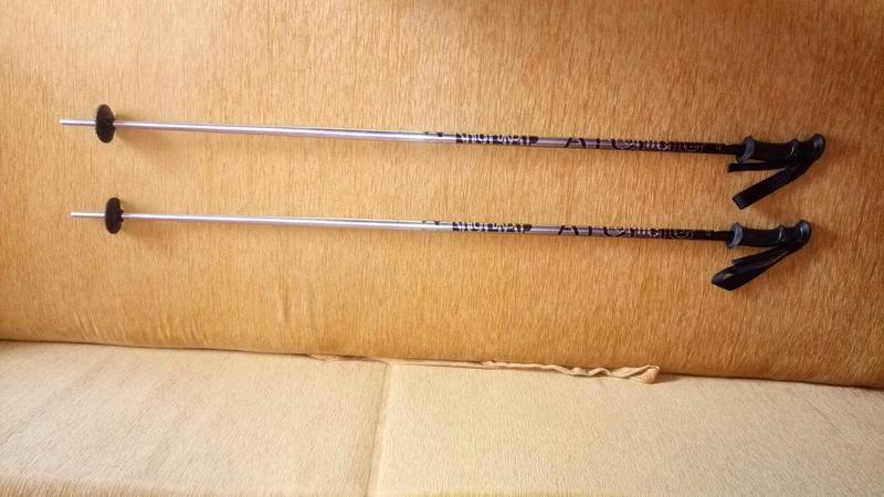 Палки горнолыжные Atomic, 122 см, оригинал