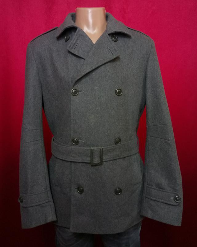 Модное мужское пальто шерстяное по супер цене