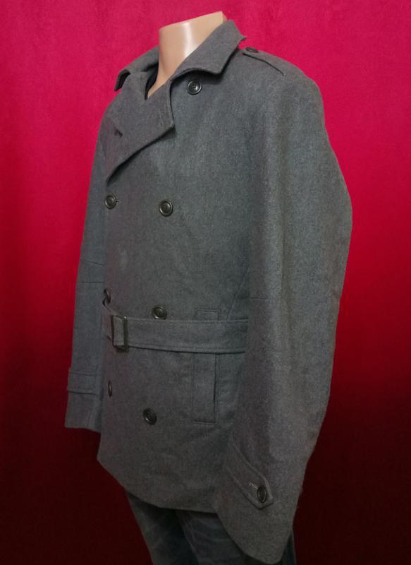 Модное мужское пальто шерстяное по супер цене - Фото 2
