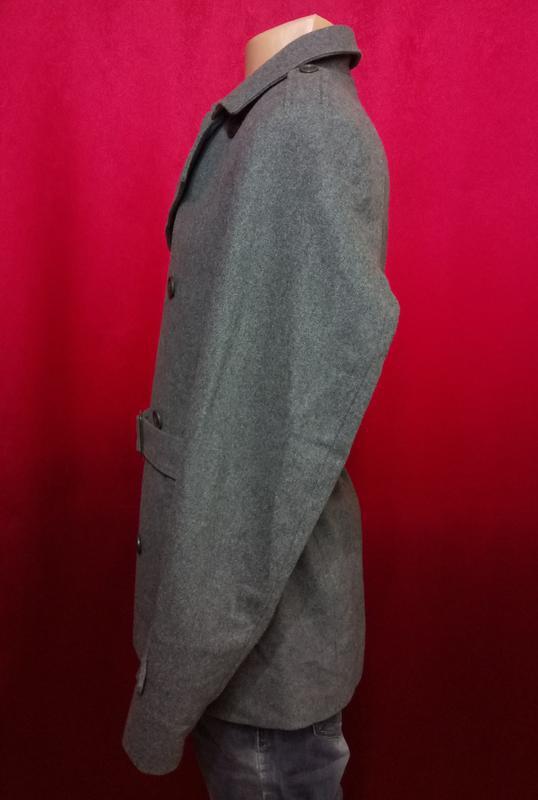 Модное мужское пальто шерстяное по супер цене - Фото 3