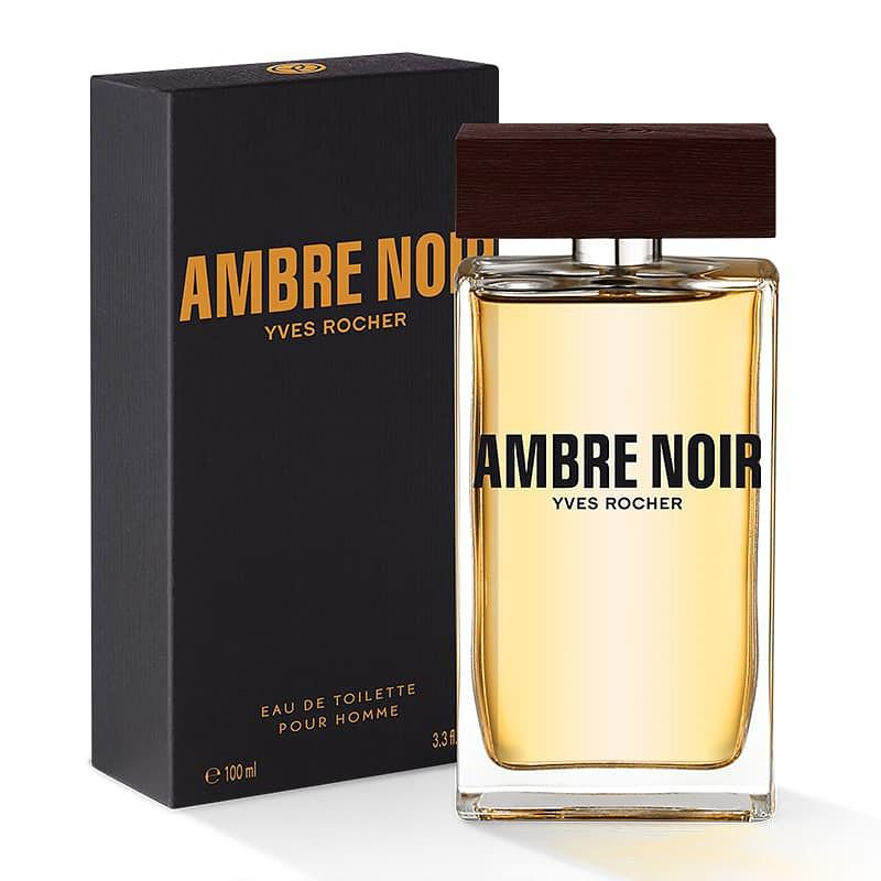 Туалетная вода Ambre Noir 100мл Черная амбра Ив Роше Yves Rocher