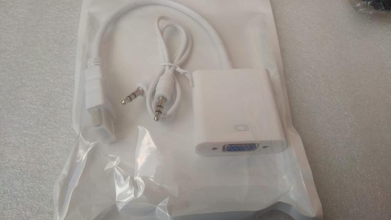 Переходник адаптер HDMI - VGA + звук