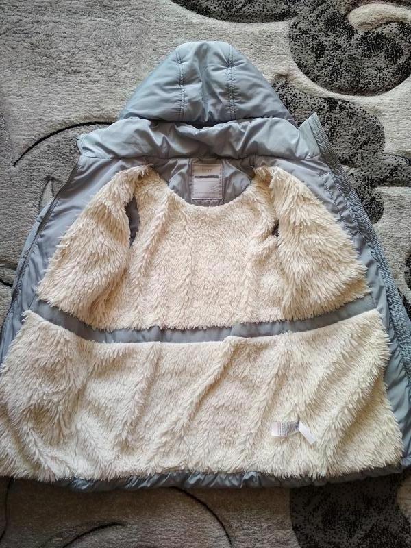 Плащ зимний next, куртка демисезонная, курточка, парка - Фото 7