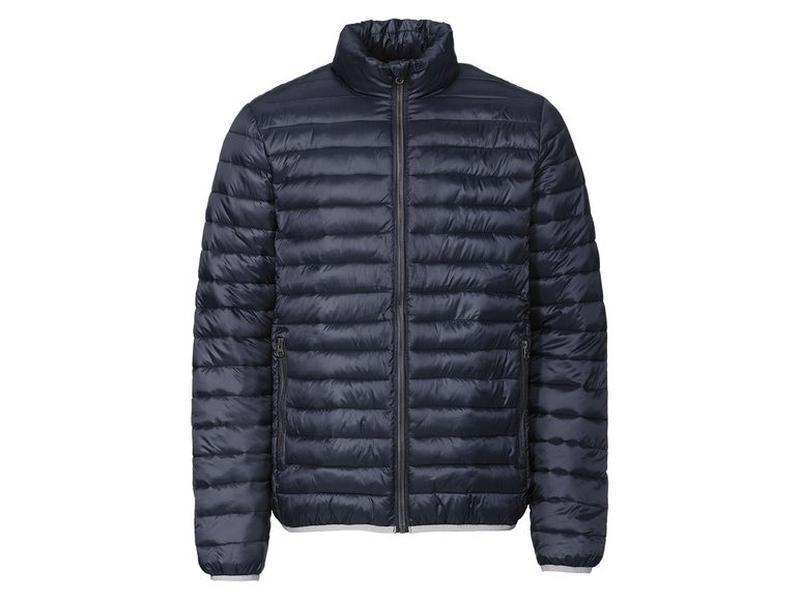 Демисезонная стеганая куртка мужская р.евро l 52 livergy германия - Фото 2