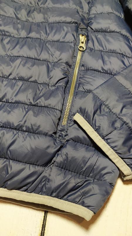 Демисезонная стеганая куртка мужская р.евро l 52 livergy германия - Фото 6