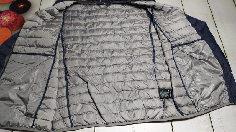Демисезонная стеганая куртка мужская р.евро l 52 livergy германия - Фото 9