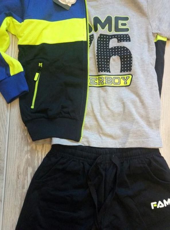 Детский спортивный костюм для мальчика 3в1 S&D Венгрия 116-146 - Фото 4