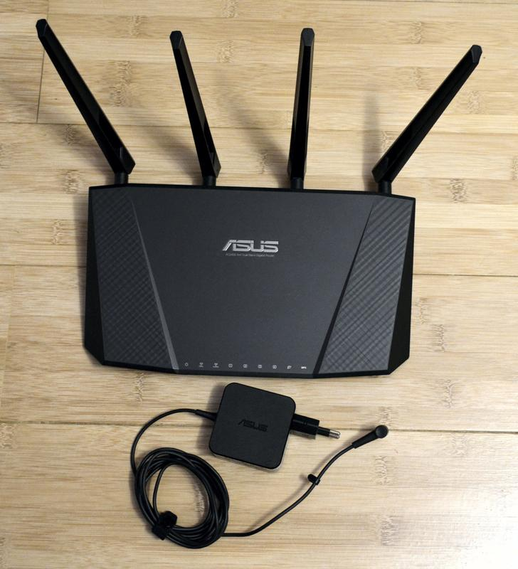 Высокоскоростной двухдиапазонный Wi-Fi роутер Asus RT-AC87U