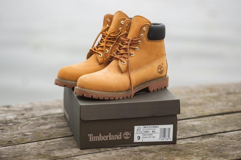 Ботинки timberland brown, зимние с мехом - Фото 2