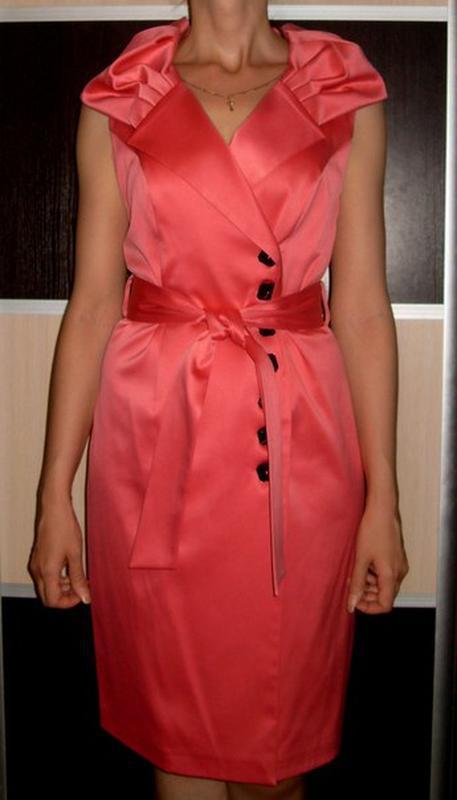 Нарядное платье 46-48р польша - Фото 2