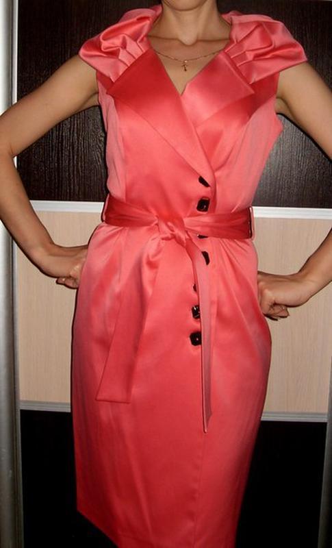 Нарядное платье 46-48р польша - Фото 3