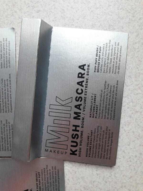 Тушь для объема ресниц milk kush mascara high volume boom - Фото 3