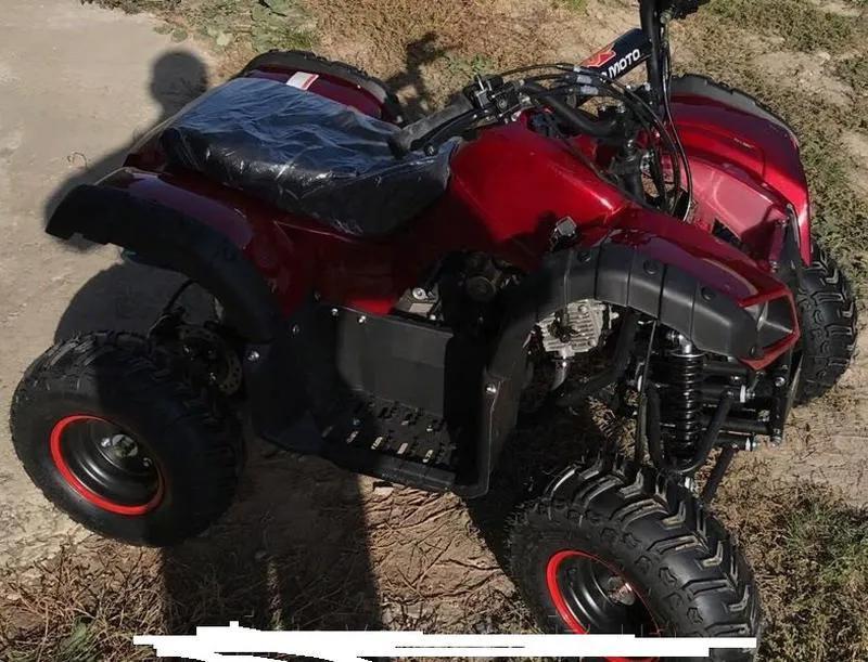 Бензиновый квадроцикл ATV-006 125 см³. До 90 кг. Польша. A. - Фото 4