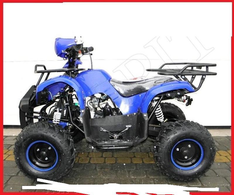 Бензиновый квадроцикл ATV-006 125 см³. До 90 кг. Польша. A. - Фото 6