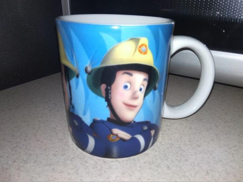 Детская кружка с пожарными - Фото 2